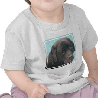 Chocolate Lab Dog Baby T-Shirt