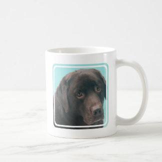 Chocolate Lab Dog Coffee Mug
