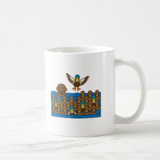 Chocolate Lab in the Ducks Coffee Mug