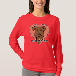 Chocolate Lab Lover T-Shirt
