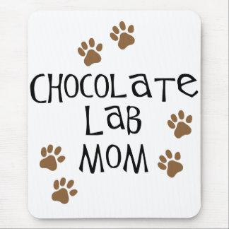 Chocolate Lab Mom Mouse Pad