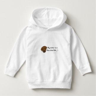 chocolate lab-more dog breeds t shirt