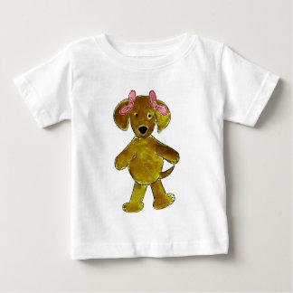 Chocolate Lab Pink Bows Infant T-shirt