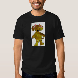 Chocolate Lab Pink Bows T Shirt