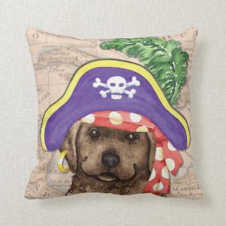 Chocolate Lab Pirate Pillows