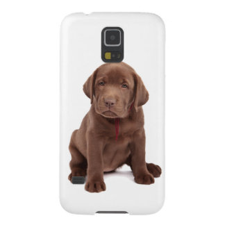 Chocolate Lab Puppy Galaxy S5 Case