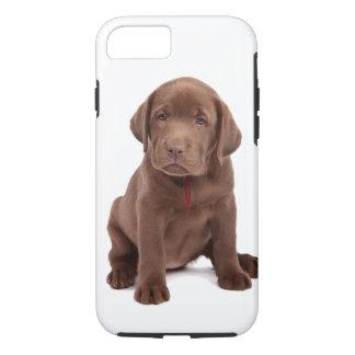 Chocolate Lab Puppy iPhone 7 Case