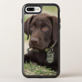 Chocolate Lab Puppy OtterBox Symmetry iPhone 7 Plus Case
