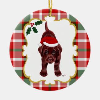 Chocolate Lab Ornaments & Keepsake Ornaments   Zazzle