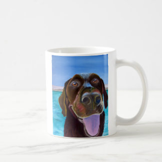 Chocolate Lab Set Coffee Mug