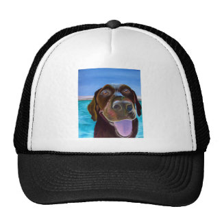Chocolate Lab Set Trucker Hat