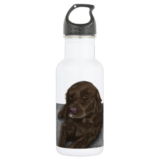 Chocolate Lab Water Bottle