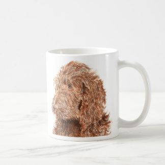 Chocolate Labradoodle #2 Mug