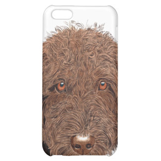 Chocolate Labradoodle Cover For iPhone 5C
