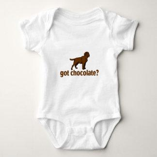 Chocolate Labrador Baby Bodysuit