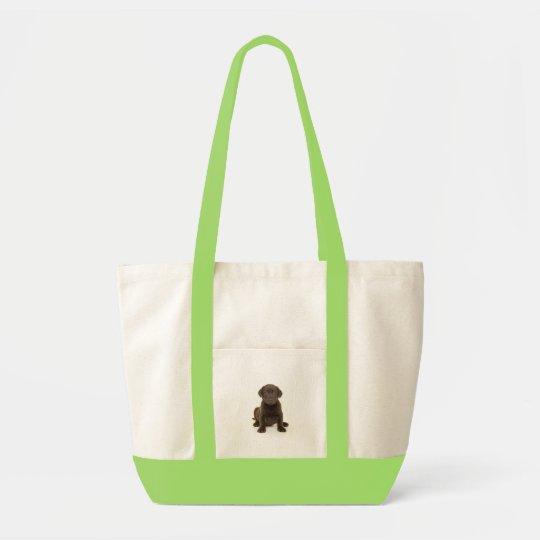 Chocolate Labrador Bag
