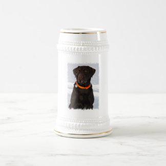 Chocolate Labrador Beer Mug