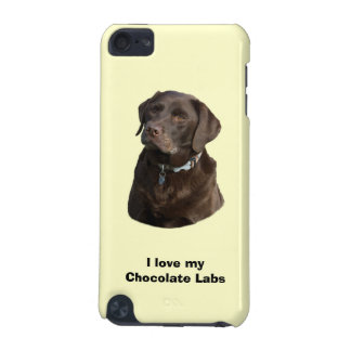 Chocolate Labrador dog photo portrait iPod Touch 5G Case
