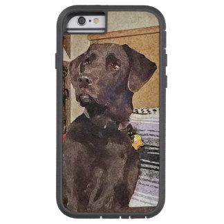 Chocolate Labrador Funda Tough Xtreme iPhone 6