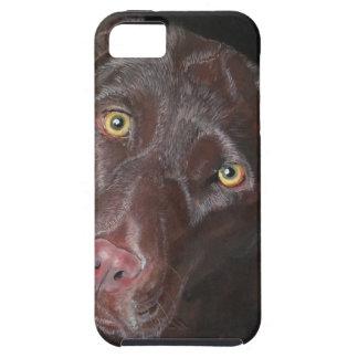Chocolate Labrador iPhone SE/5/5s Case