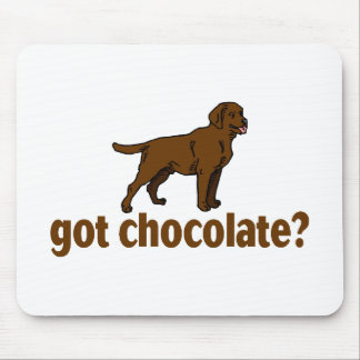 Chocolate Labrador Mouse Pad