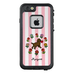 Chocolate Labrador Puppy Little Heart iPhone Case