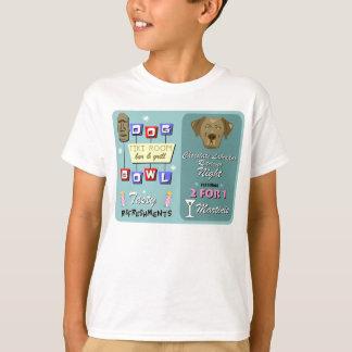 Chocolate Labrador Retriever Bowling T-Shirt
