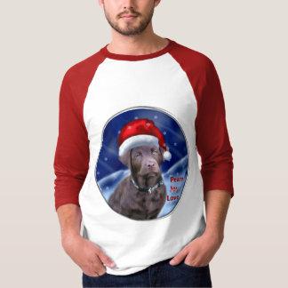Chocolate Labrador Retriever Christmas Gifts T-Shirt