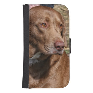 CHOCOLATE LABRADOR RETRIEVER GALAXY S4 CASE