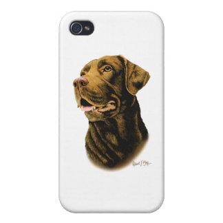 Chocolate Labrador Retriever Cover For iPhone 4