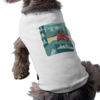 Chocolate Labrador Retriever Martini Pet Clothing