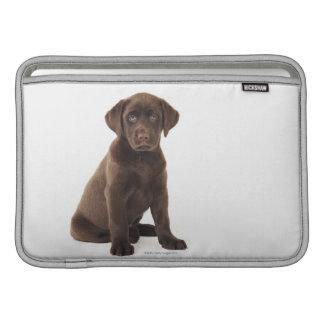 Chocolate Labrador Retriever Puppy Sleeves For MacBook Air