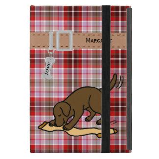 Chocolate Labrador Stocking iPad Mini Case