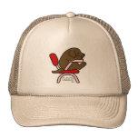Chocolate Labrador Student 2 Cartoon Trucker Hat