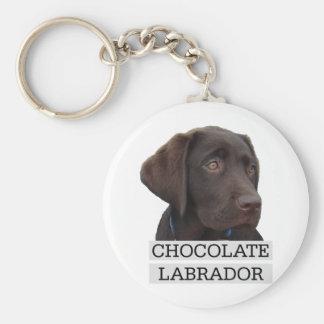Chocolate Labrador Unique design! Keychain