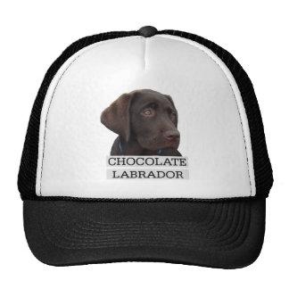 Chocolate Labrador Unique design! Trucker Hat