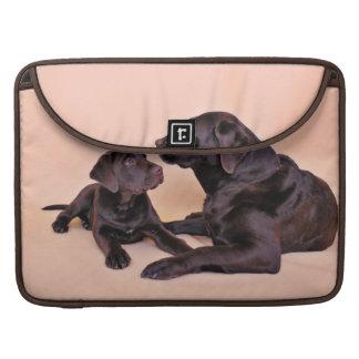 Chocolate Labradors Sleeve For MacBook Pro