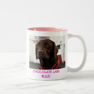 CHOCOLATE LABS RULE! COFFEE MUGS