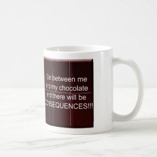 Chocolate lesson coffee mug