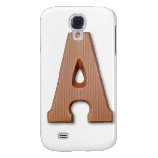 Chocolate letter A Samsung Galaxy S4 Cover