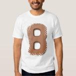 Chocolate letter b t-shirt