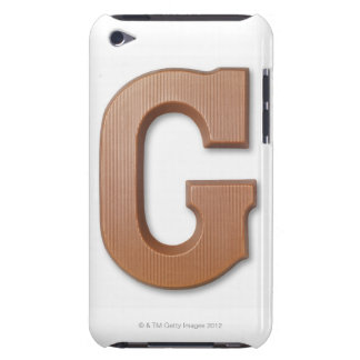 Chocolate letter g iPod touch Case-Mate case