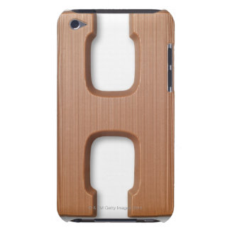 Chocolate letter h barely there iPod case