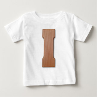 Chocolate letter I Baby T-Shirt