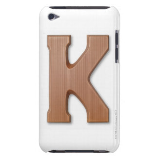 Chocolate letter k barely there iPod cover