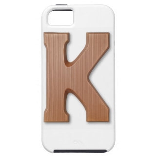 Chocolate letter k iPhone SE/5/5s case