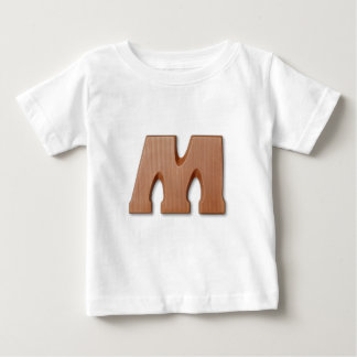 Chocolate letter M Baby T-Shirt