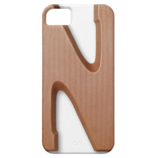 Chocolate letter n iPhone SE/5/5s case