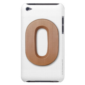Chocolate letter o Case-Mate iPod touch case