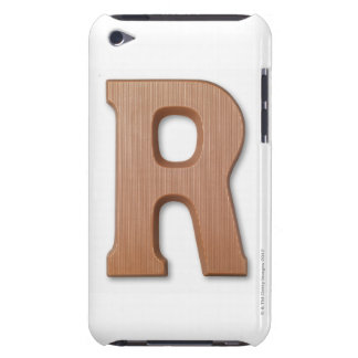 Chocolate letter r iPod Case-Mate case